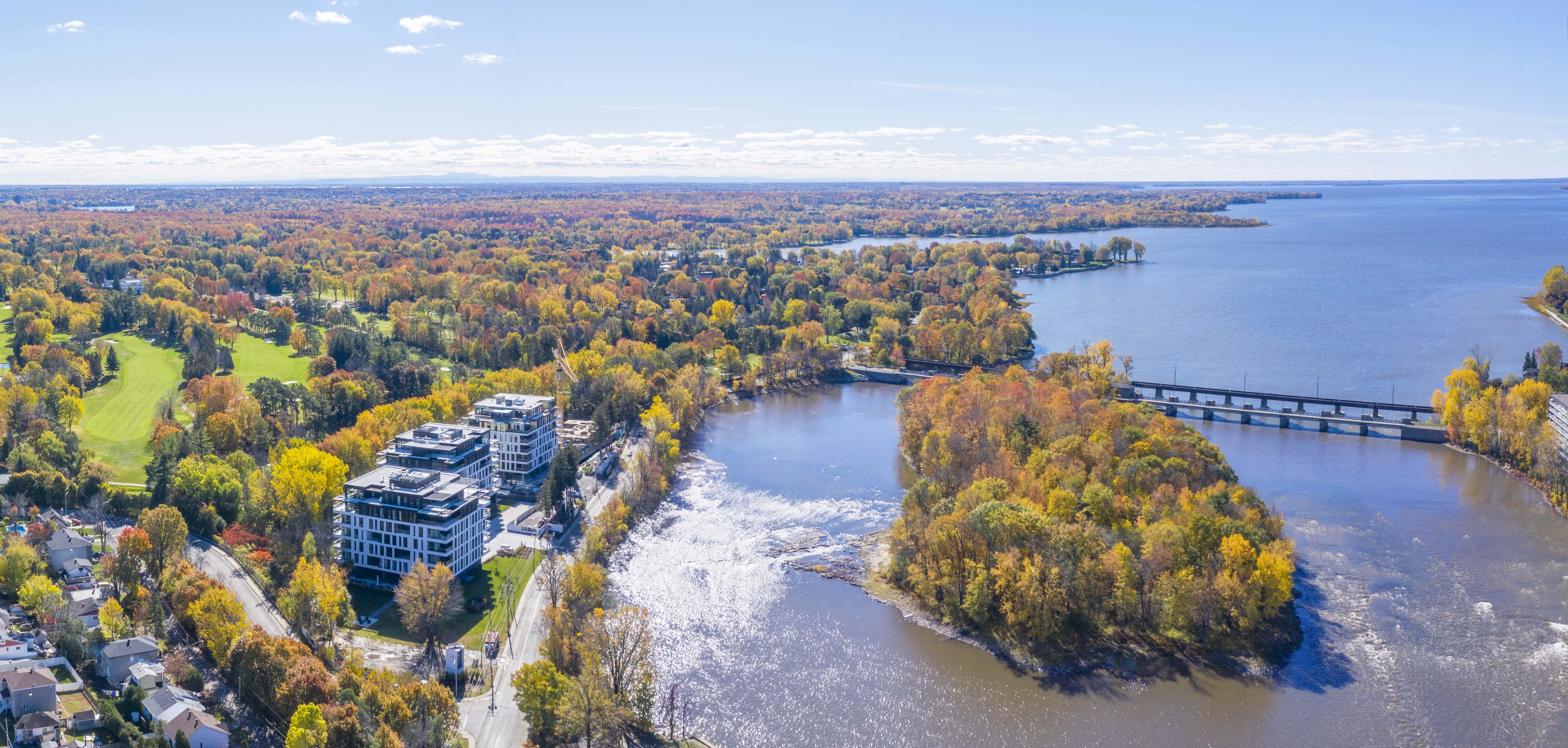 Carte de Laval-sur-le-lac